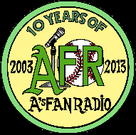 A's Fan Radio Twitch Channel