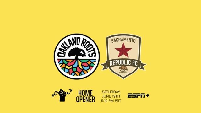 Roots 2021 ULS home opener vs. Sacramento Republic FC on 6-19